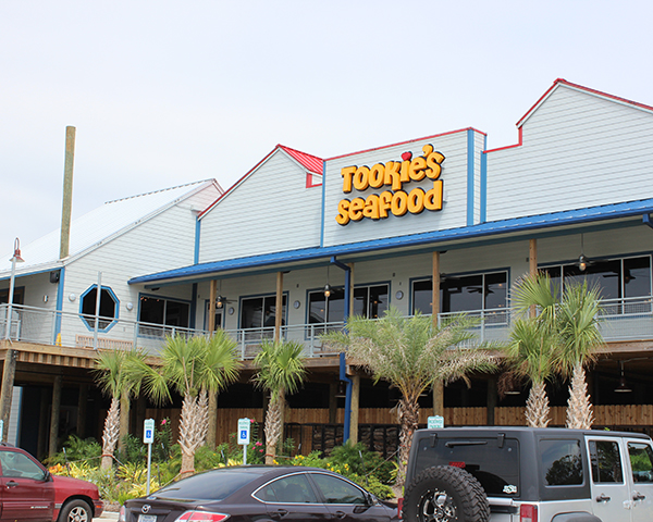 Tookies Seafood store front