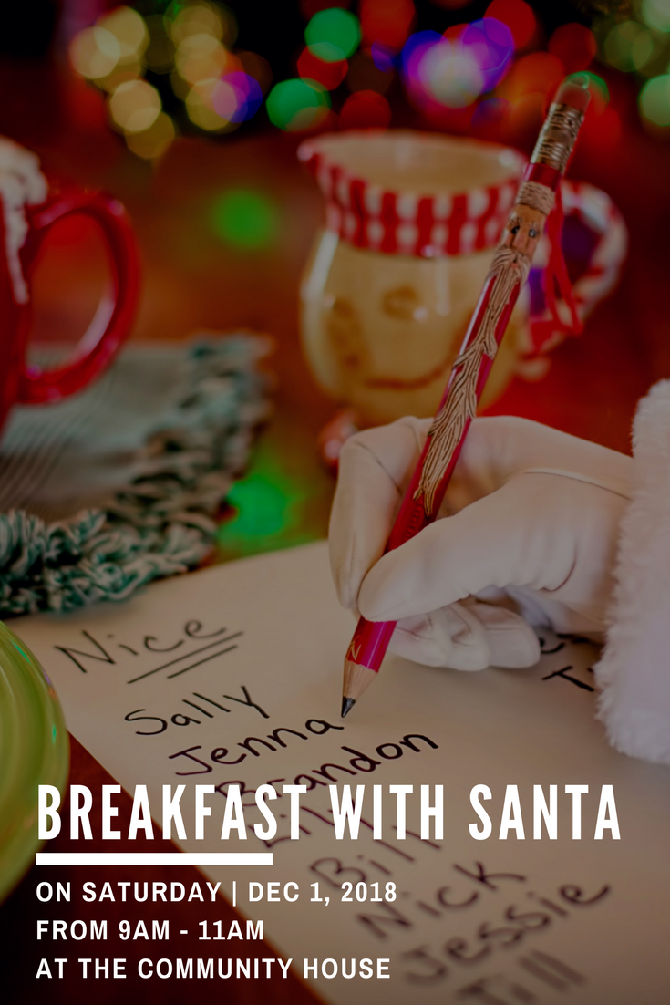 Breakfast with Santa - Website Graphic